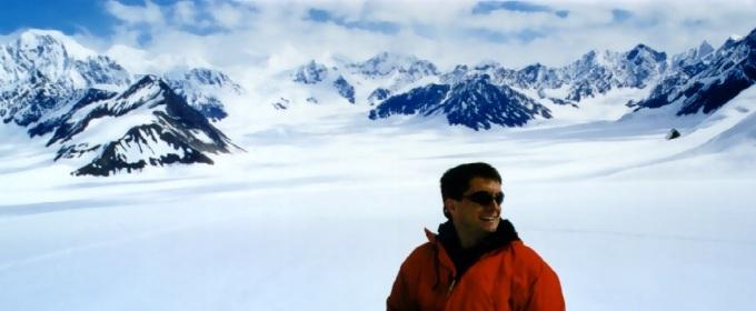 Robert Phillips during his Alaska Vacation