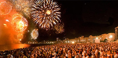 New Year's Eve 2012 in Rio de Janeiro Travel Vacation Package